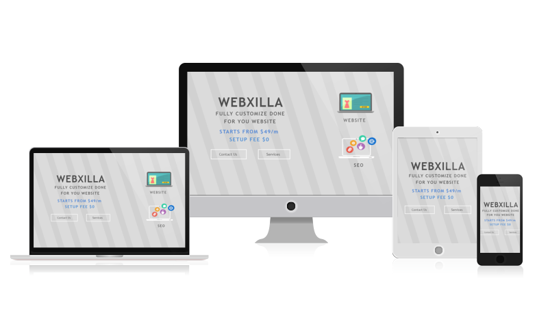 Mobile Responsive Webxilla Features
